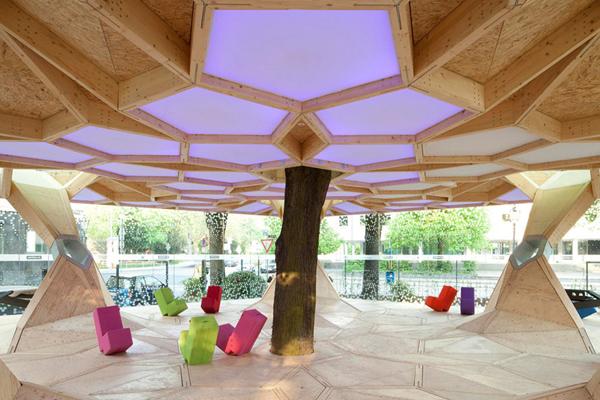 Дизайна павильона